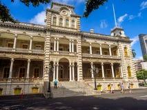 Iolani Palace in Honolulu Hawaii Royalty Free Stock Photos