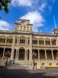 Iolani Palace in Honolulu Hawaii Stock Image