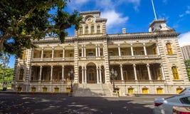 Iolani Palace in Honolulu Hawaii Royalty Free Stock Photography