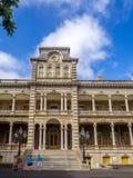 Iolani Palace in Honolulu Hawaii Royalty Free Stock Photo