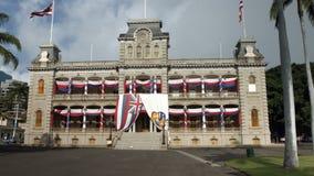 Iolani Palace in Oahu Hawaii