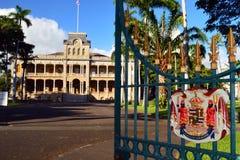 Iolani Palace Royalty Free Stock Photography