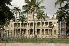 Iolani palace Stock Photos