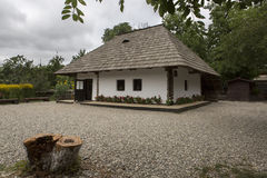 Ion Creanga minnes- hus arkivbilder