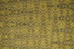 Ion Fabric textur, futuristisk textilbakgrund i Autumn Maple färg Royaltyfri Foto