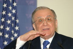 Ion Iliescu Royalty Free Stock Photo