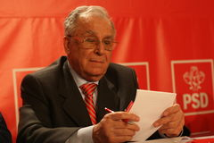Ion Iliescu Stock Images
