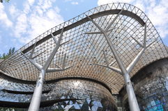 Ion Orchard Mall Singapore. Facade of Ion Orchard Mall in Singapore Royalty Free Stock Images