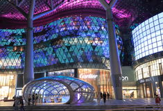 ION Orchard modern architecture Singapore  Stock Photos