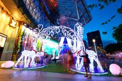 ION Orchard shopping mall Singapore Royalty Free Stock Photos