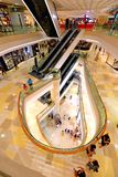 ION Orchard shopping mall Singapore. Interior design for Orchard Ion Stock Images