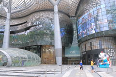 ION Orchard architecture Singapore  Royalty Free Stock Photography