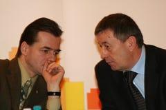 Ion Radulea and Ludovic Orban Royalty Free Stock Photo