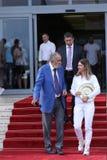 Ion Tiriac and Simona Halep