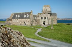 Iona Abbey Stock Photos