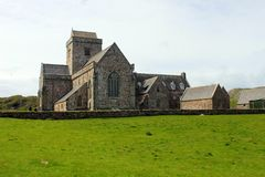 Iona Abbey Royaltyfri Foto