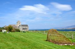 Iona Abbey Photographie stock