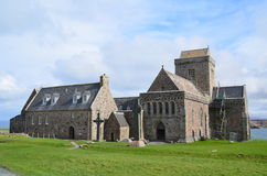 Iona Abbey Royaltyfri Bild