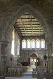 Iona Abbey Chapel Stock Image