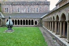 Iona Abbey cloister Stock Photography