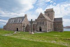 Iona Abbey, Escocia Foto de archivo libre de regalías