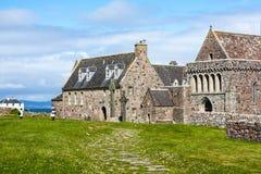 Iona Abbey, Escocia Imágenes de archivo libres de regalías