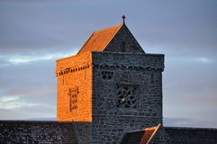 Iona Abbey Stock Image