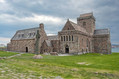 Iona abbey, Scotland Royalty Free Stock Images