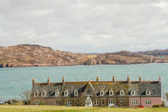 Iona cottages Stock Image