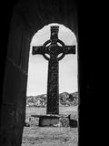 Iona Cross royalty free stock photography