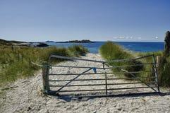 Iona, nord-fin image libre de droits