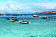 Iona, Scottish Island. Seashore in summertime Stock Photo