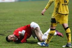 FC Dinamo Bucharest FC Brasov Lizenzfreies Stockfoto
