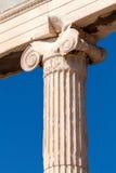 Ionenspalte von Erechteion, Akropolis, Athen Stockfotografie