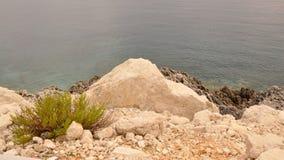 ionian hav zakynthos Fotografering för Bildbyråer