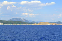 Ionian  islands and sea,Greece Royalty Free Stock Image