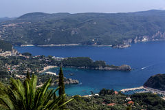Ionian kust Royaltyfri Bild