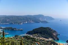 Ionian kust Royaltyfri Fotografi