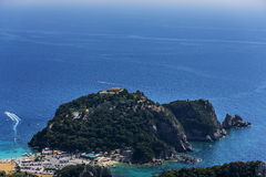 Ionian kust Fotografering för Bildbyråer