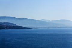 Ionian kust Arkivbilder
