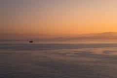 Ionian morgon Arkivbild