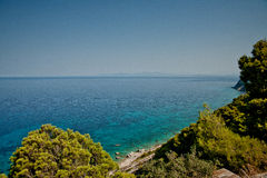 Ionian sea royalty free stock photos