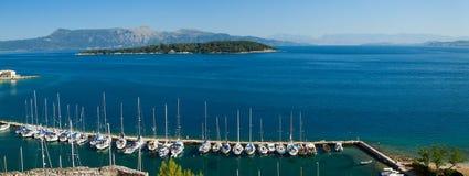 Ionian Sea Bay Stock Photo