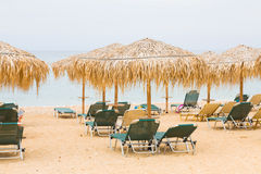 Ionian sea beach Royalty Free Stock Image