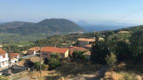 Ionian Sea, Greece, Lefkada island, Vasiliki stock video footage