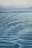 Ionian sea near Igoumenitsa and  Corfu. Greece.  Stock Photo