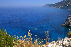 Ionian Sea view Stock Photography