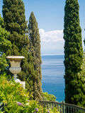 Ionian Sea view Stock Photo