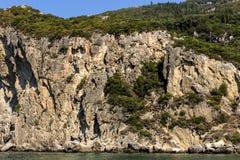 Ionian seashore Stock Images