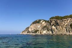 Ionian seashore Stock Photo